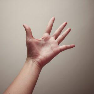 Massage hand relief